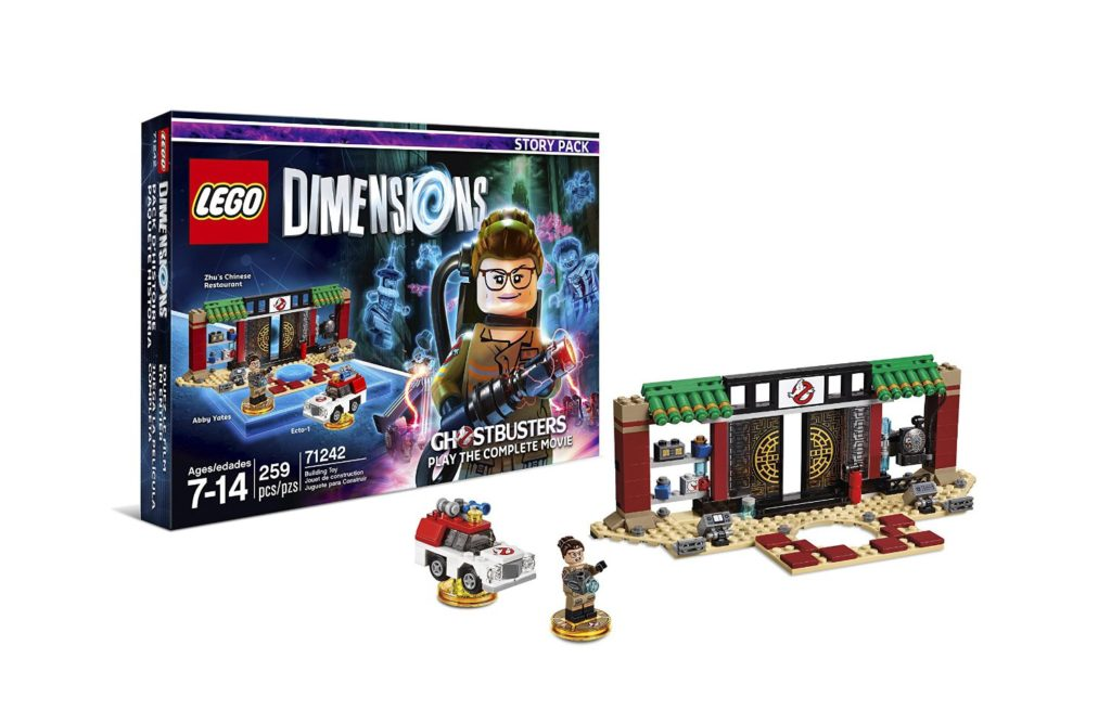LEGO Dimensions Phase 2 - Ghostbusters Story Pack Contents
