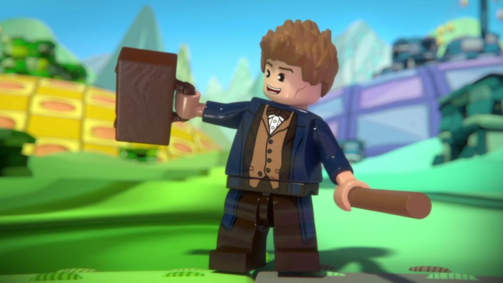 LEGO Dimensions Phase 2 - Newt Scamander Fantastic Beasts
