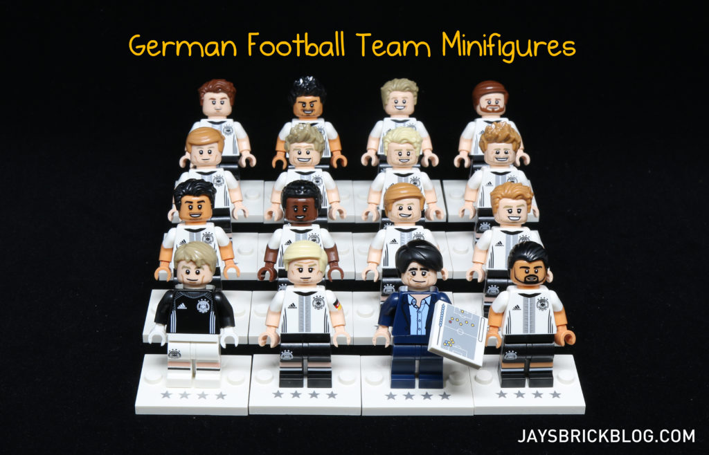 LEGO German Football Minifigures