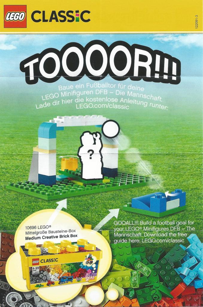LEGO German Football Minifigures - Ad