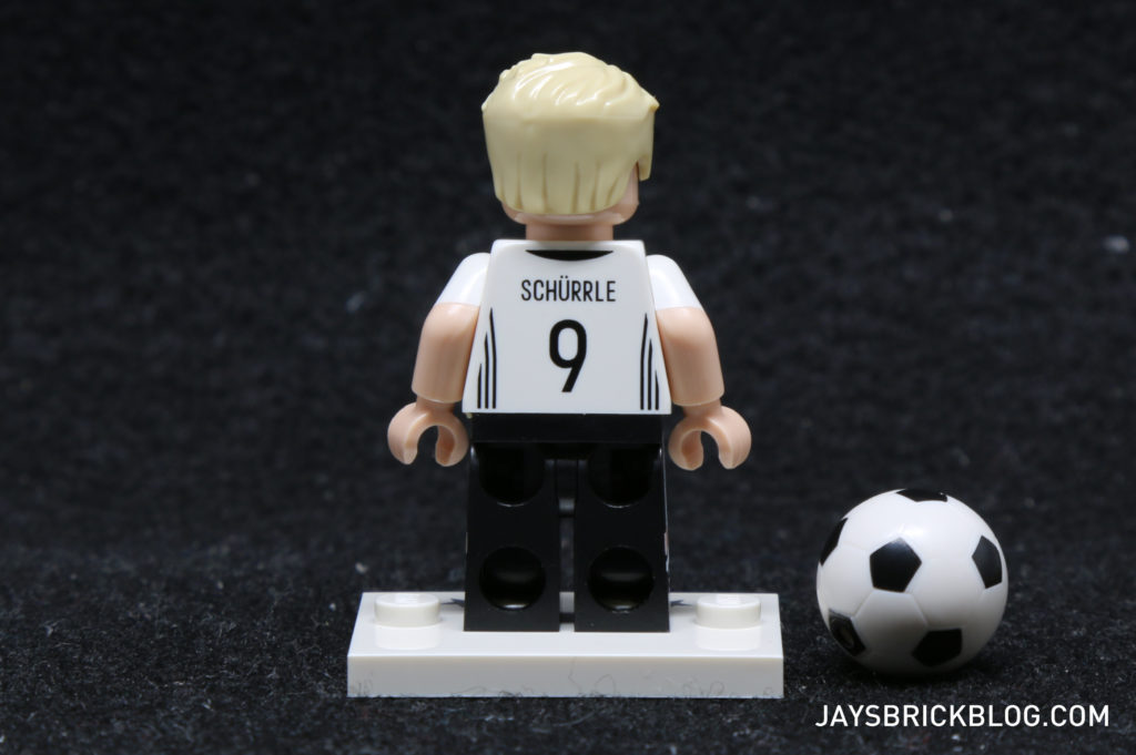 LEGO German Football Minifigures -Andre Shurrle Minifig Back