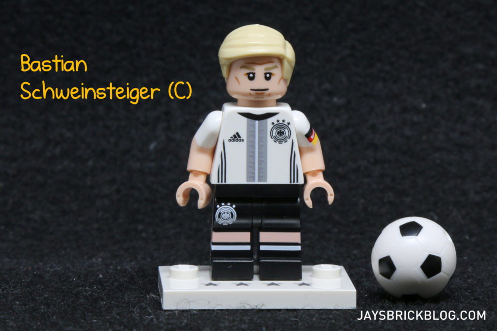 LEGO German Football Minifigures - Bastian Schweinsteiger Minifig