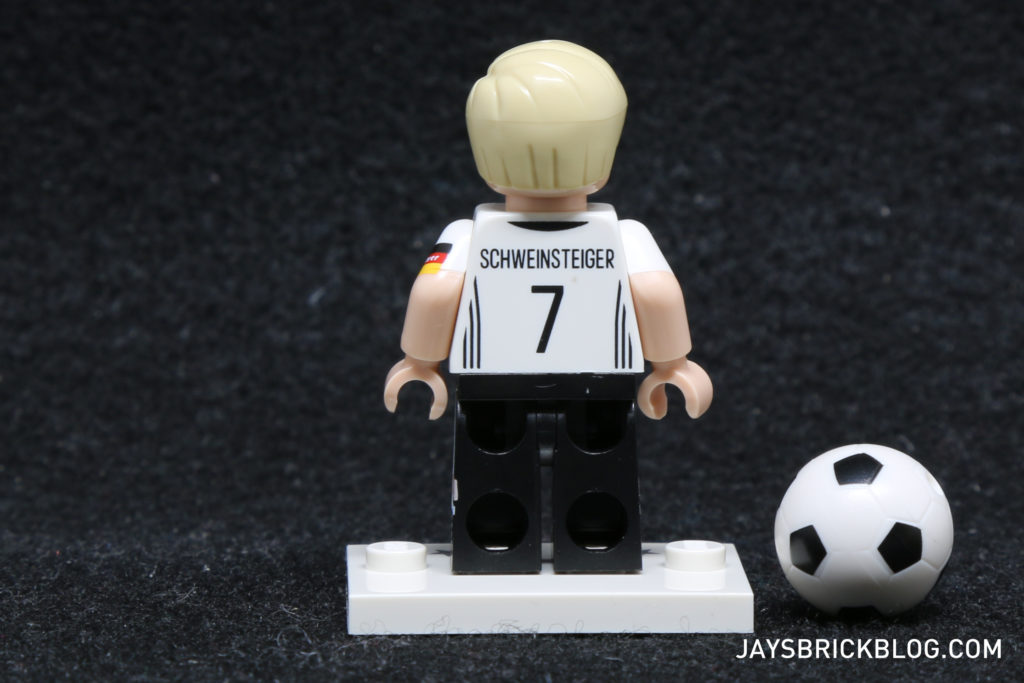 LEGO German Football Minifigures - Bastian Schweinsteiger Minifig Back