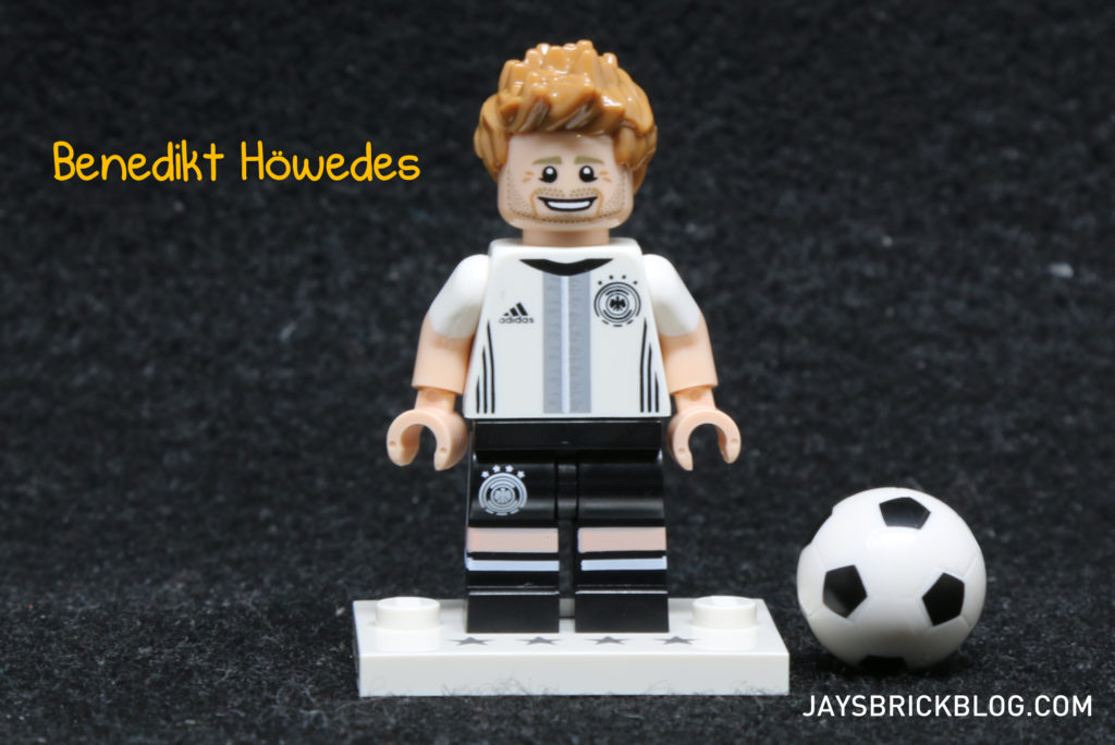 LEGO German Football Minifigures -Benedikt Howedes Minifig