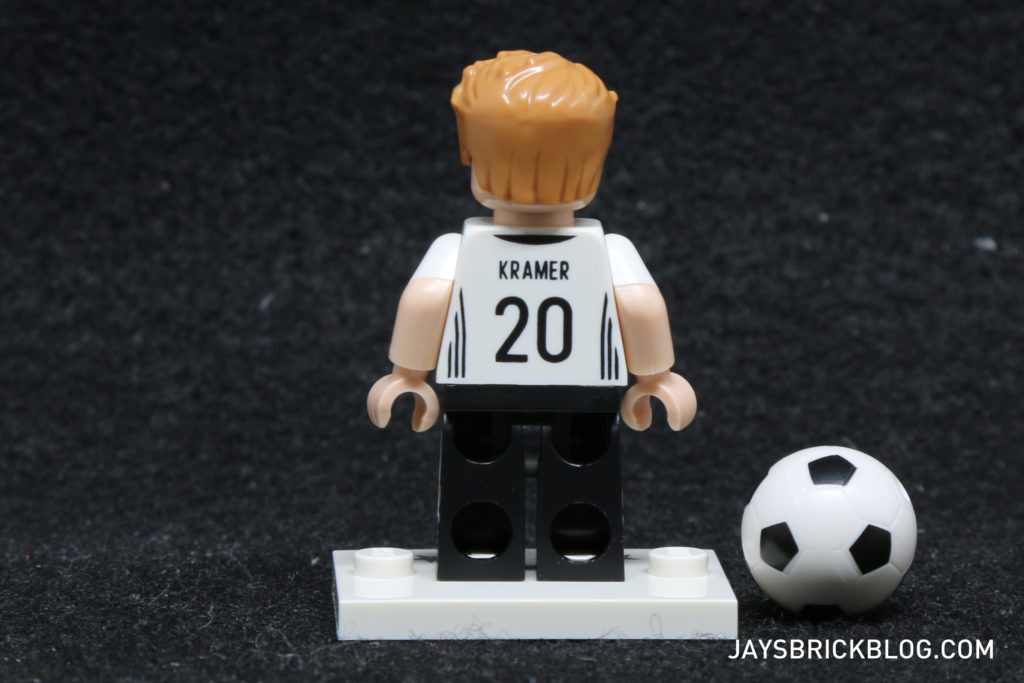 LEGO German Football Minifigures -Christoph Kramer Minifig Back