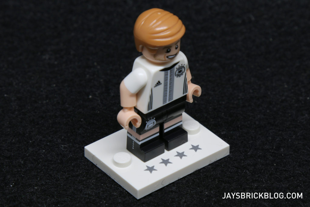 LEGO German Football Minifigures - Commemorative Base