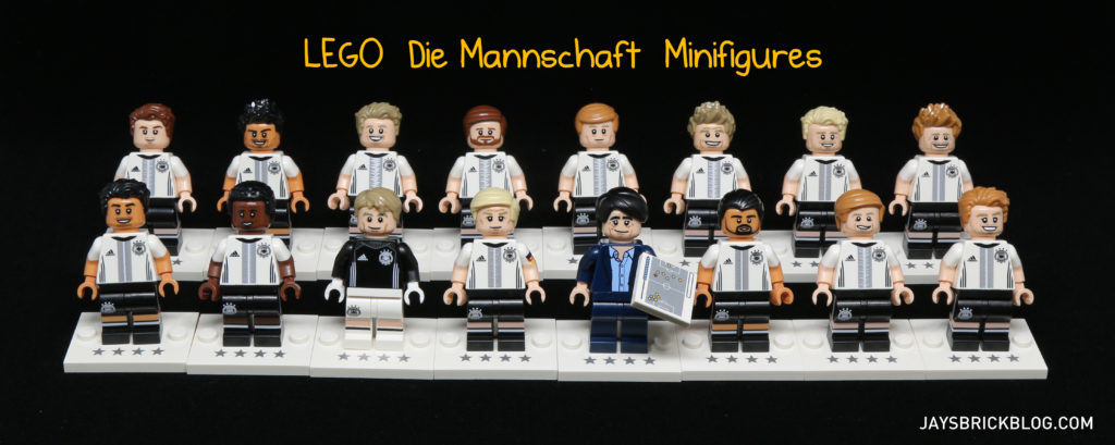 LEGO German Football Minifigures - DFB Die Mannschaft