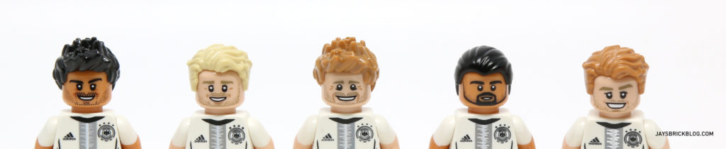 LEGO German Football Minifigures - Facial Hair