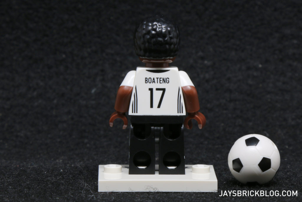LEGO German Football Minifigures - Jerome Boating Minifig Back