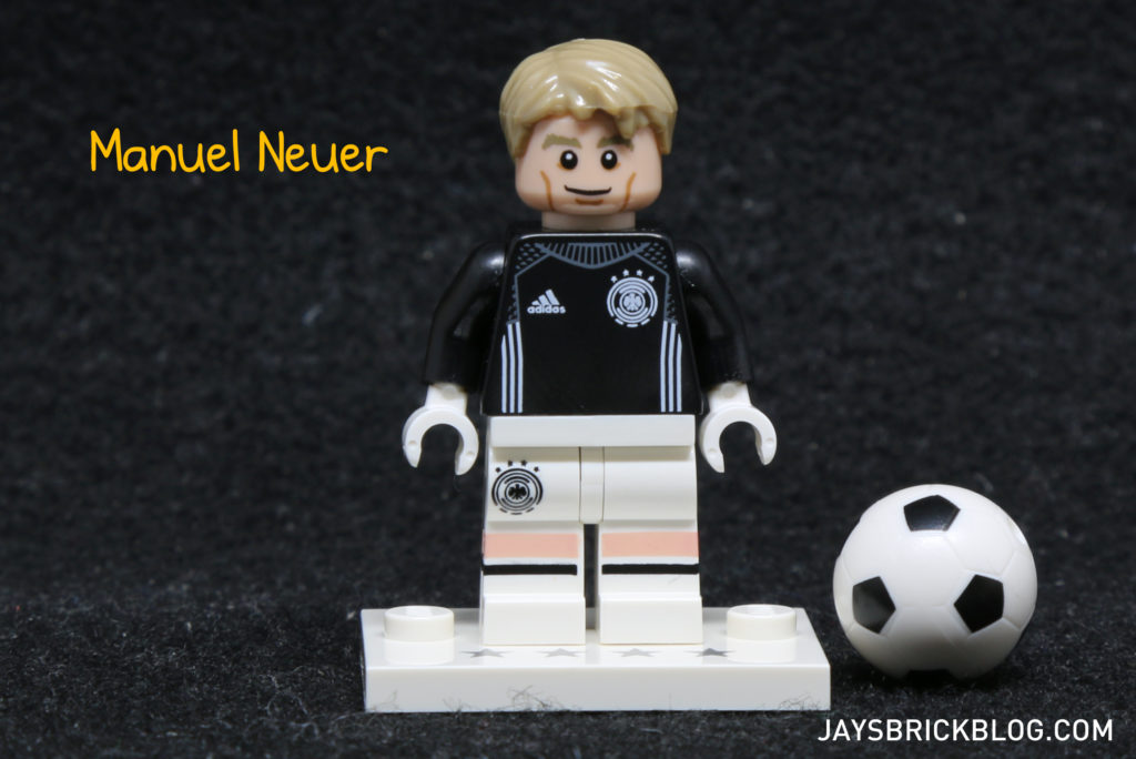 LEGO German Football Minifigures - Manuel Neuer Minifig