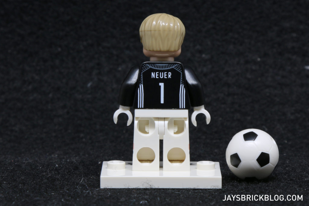 LEGO German Football Minifigures - Manuel Neuer Minifig Back