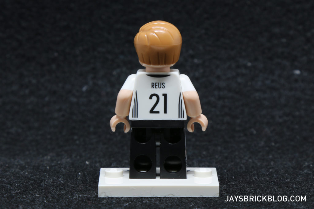 LEGO German Football Minifigures - Marco Reus Minifig Back