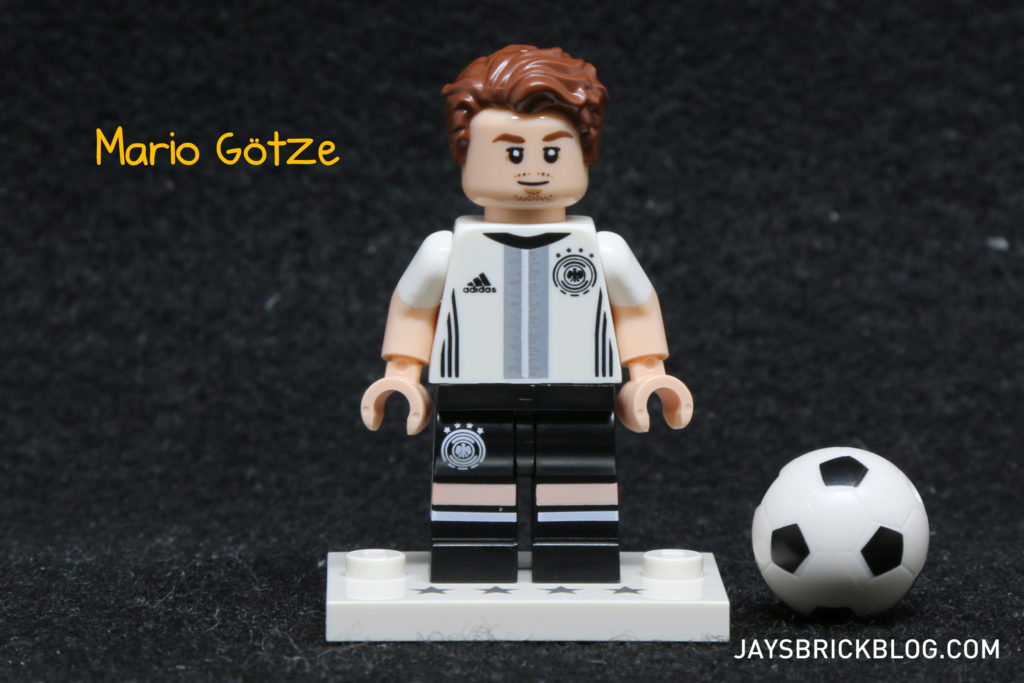 LEGO German Football Minifigures -Mario Gotze Minifig