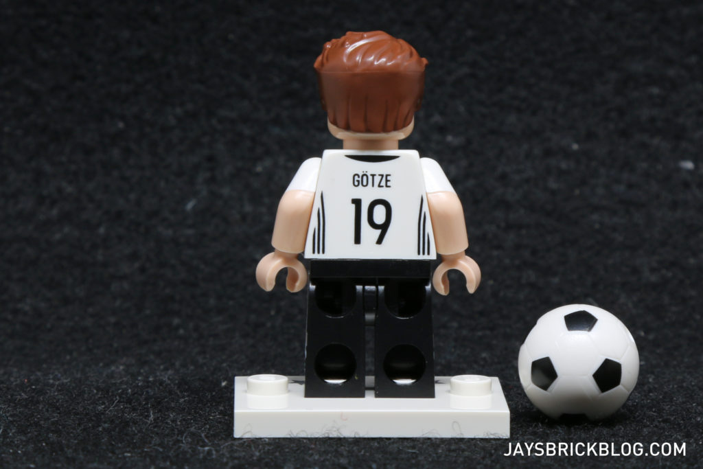 LEGO German Football Minifigures - Mario Gotze Minifig Back