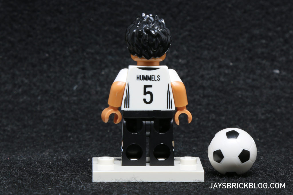 LEGO German Football Minifigures - Mats Hummels Minifig Back