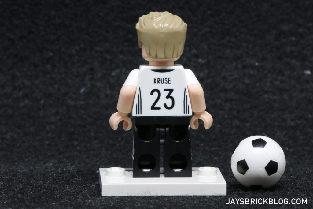 LEGO German Football Minifigures - Max Kruse Minifig Back