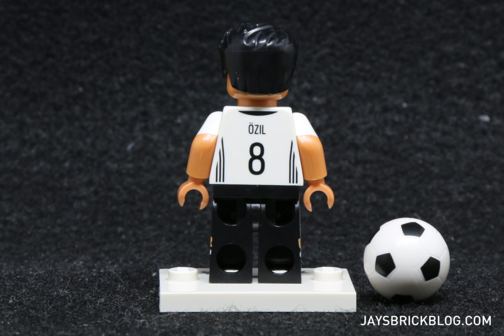 LEGO German Football Minifigures -Mesut Ozil Minifig Back