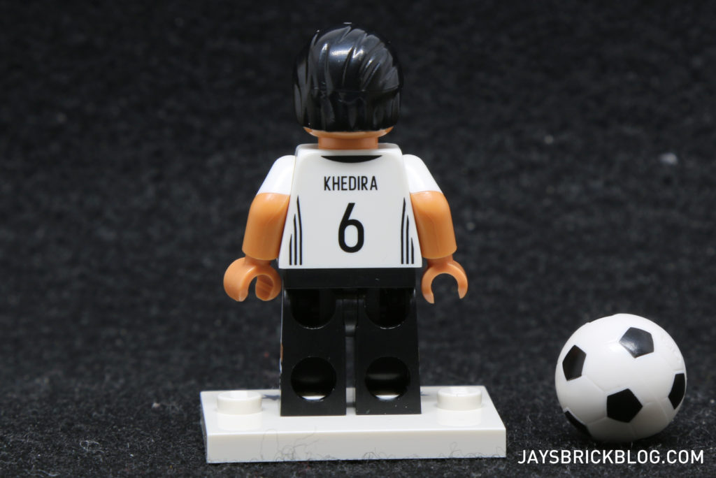 LEGO German Football Minifigures - Sami Khedira Minifig Back