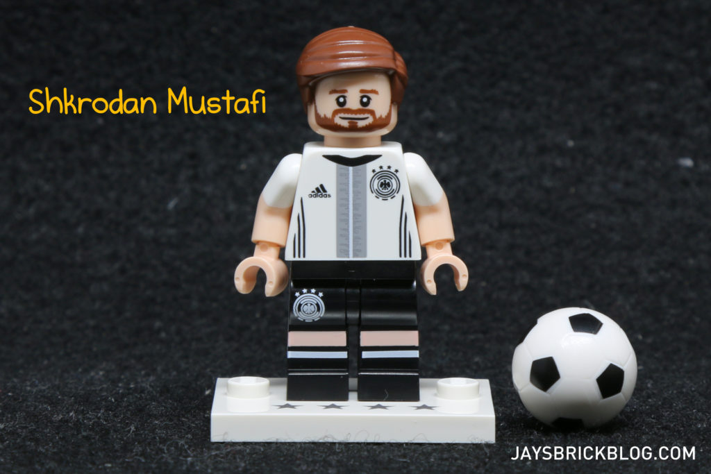 LEGO German Football Minifigures -Shkrodan Mustafi Minifig