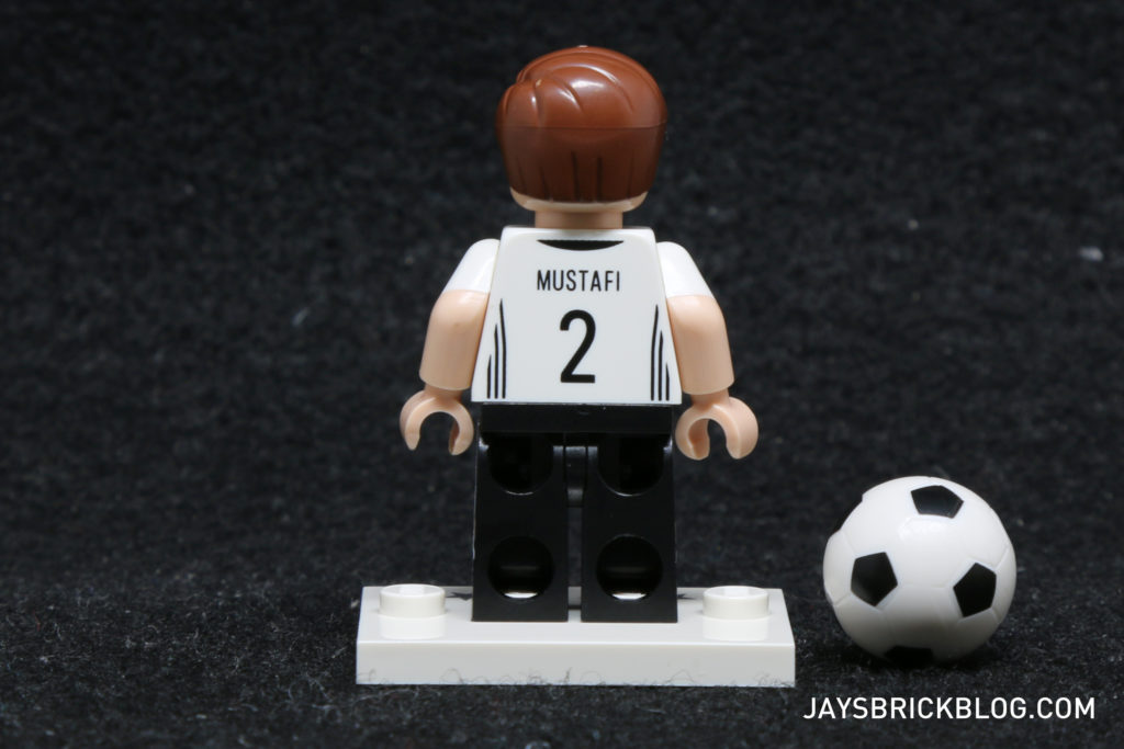 LEGO German Football Minifigures -Shkrodan Mustafi Minifig Back