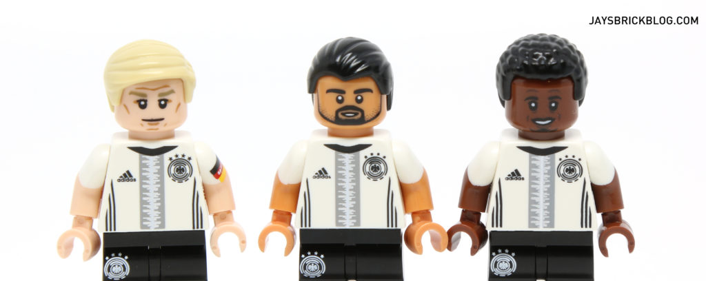 LEGO German Football Minifigures - Skin Colour