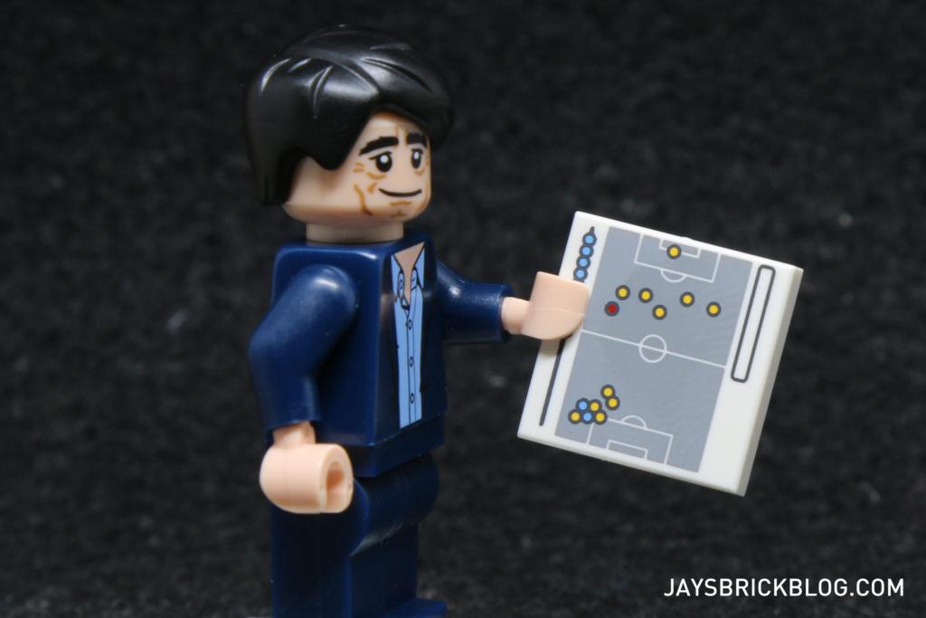 LEGO German Football Minifigures - Tactics Board Tile