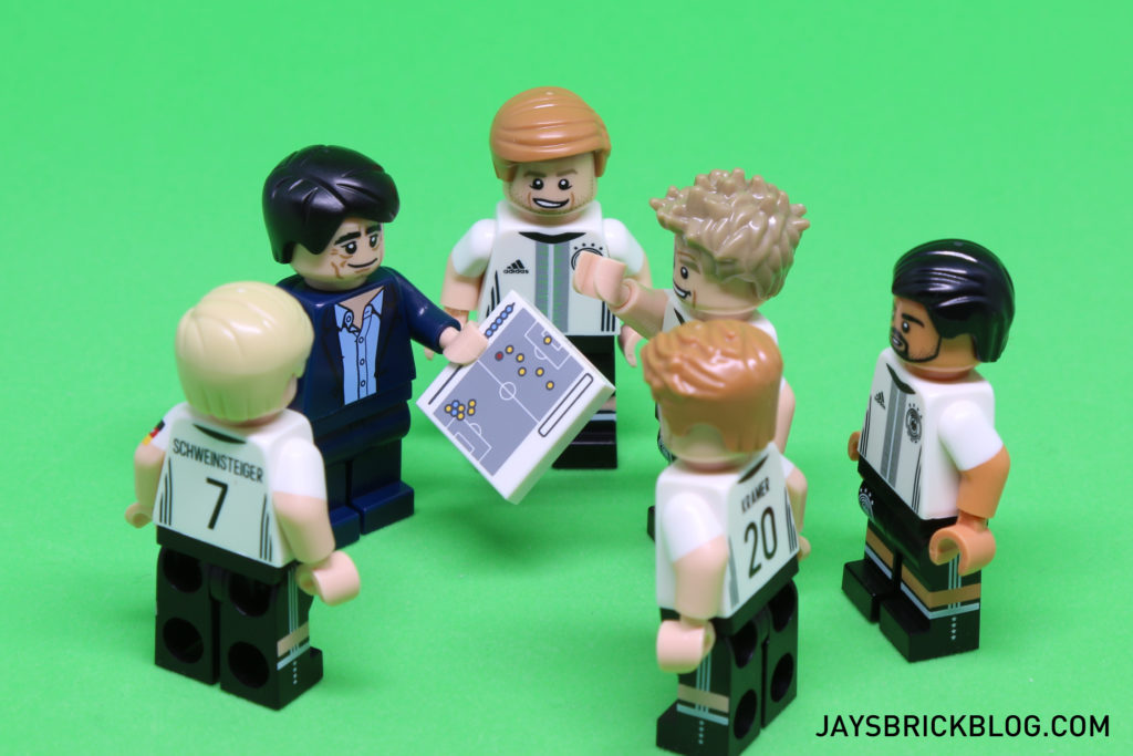LEGO German Football Minifigures - Team Tactics