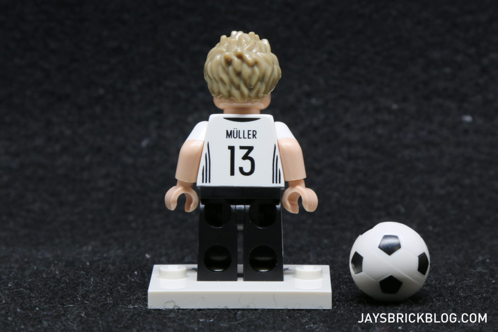 LEGO German Football Minifigures - Thomas Muller Minifigure Back