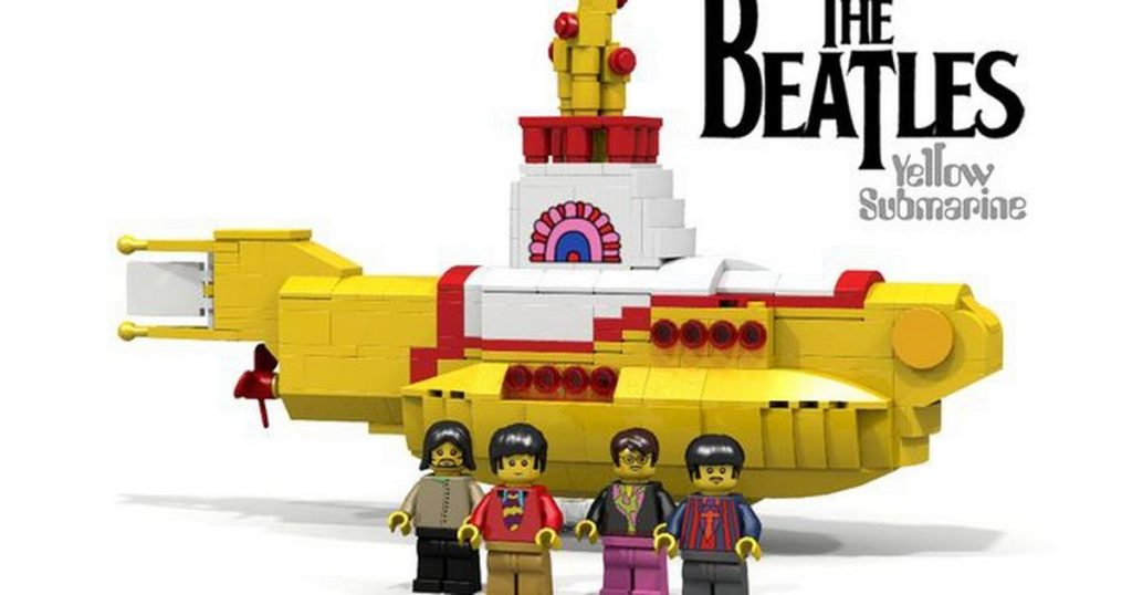 Your next LEGO Ideas sets are The Beatles Yellow Submarine and Apollo 11 Saturn V!