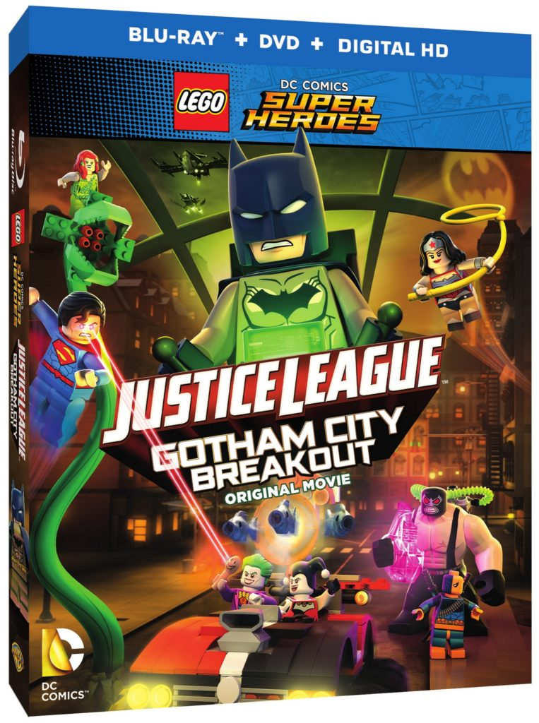 LEGO Justice League Gotham City Breakout DVD