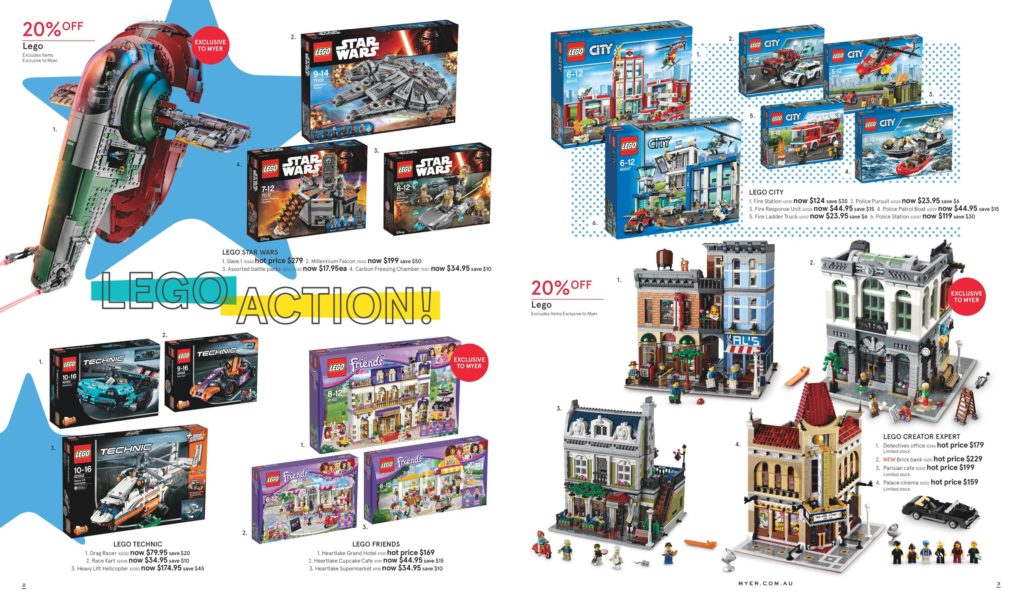 Australian LEGO Sales June 2016 – Mid Year Toy Sale Edition