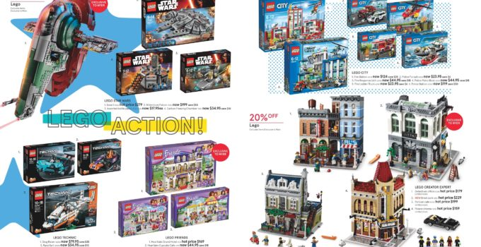 Australian LEGO Sales June 2016 – Mid Year Toy Sale Edition