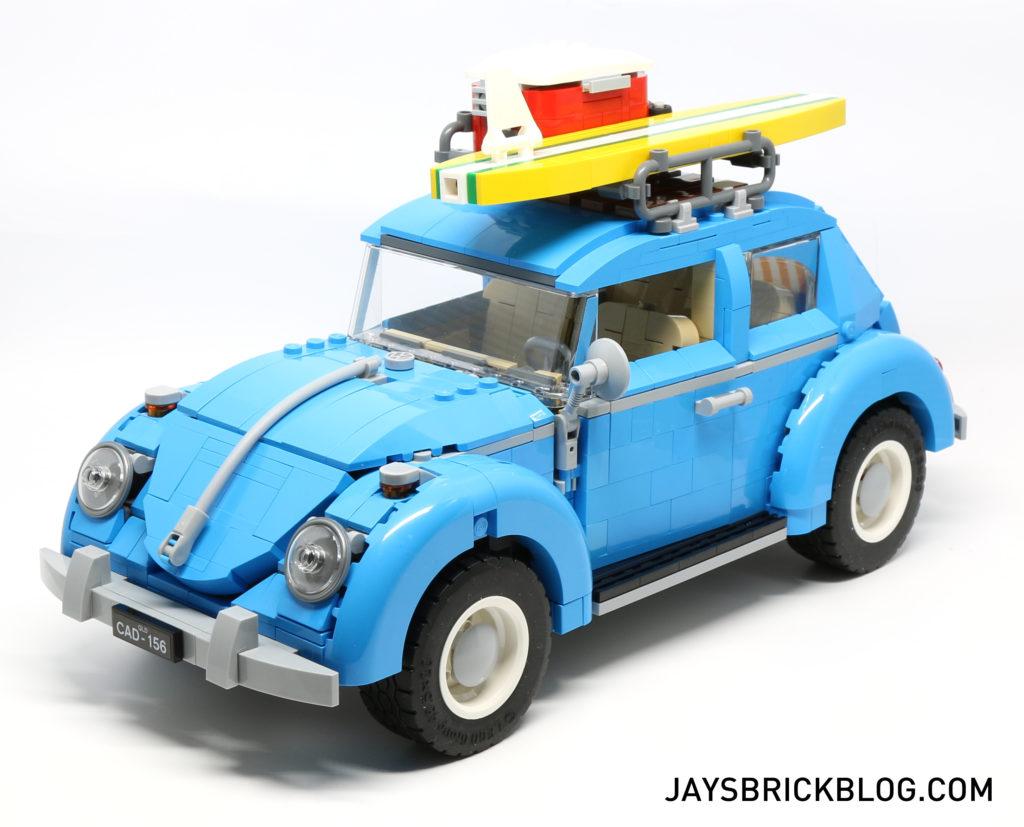 LEGO 10252 Volkswagen Beetle Angle View