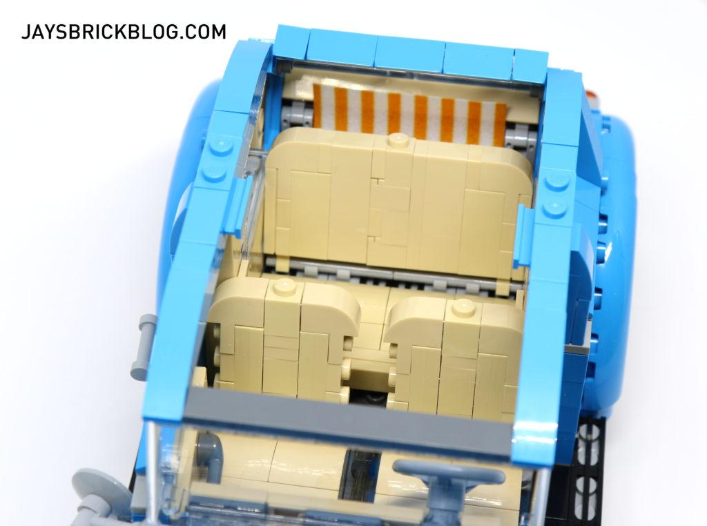 LEGO 10252 Volkswagen Beetle - Back Seat