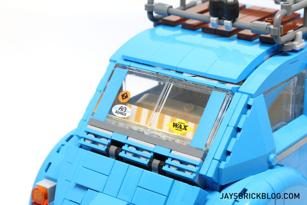 LEGO 10252 Volkswagen Beetle - Back Window