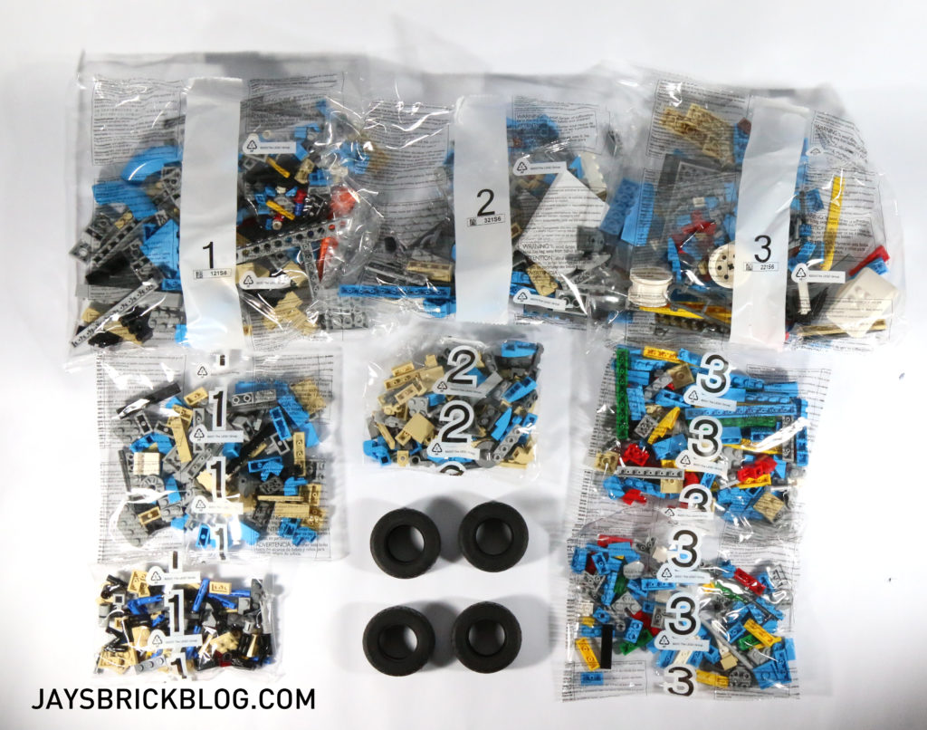 LEGO 10252 Volkswagen Beetle - Bags