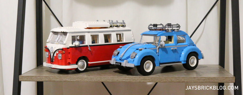 LEGO 10252 Volkswagen Beetle - Comparison with T1 Camper Van