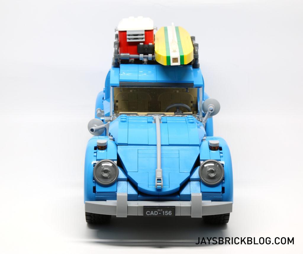 LEGO 10252 Volkswagen Beetle - Front View