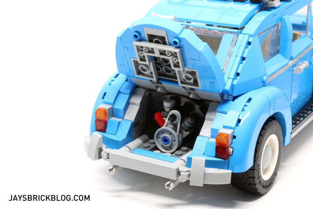LEGO 10252 Volkswagen Beetle - Open Back