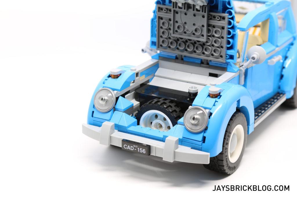 LEGO 10252 Volkswagen Beetle - Open Bonnet