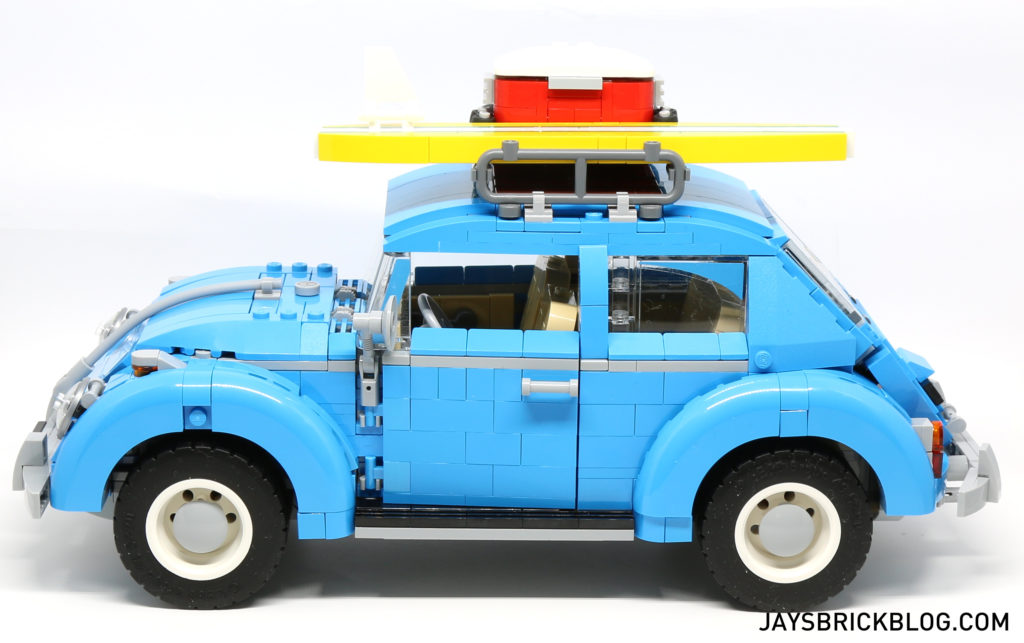 LEGO 10252 Volkswagen Beetle - Side View