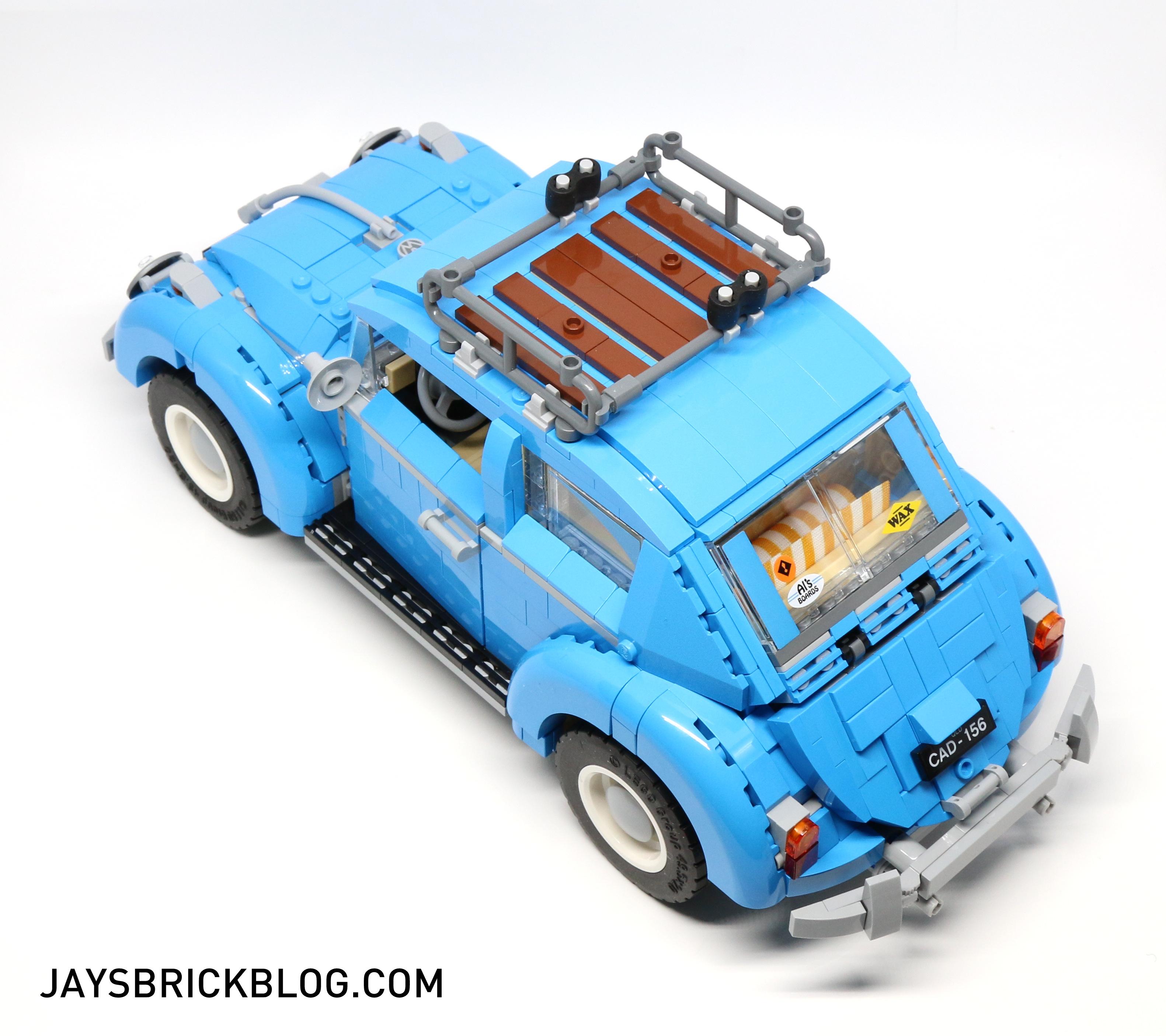 Lego 10252 Volkswagen Beetle Top View