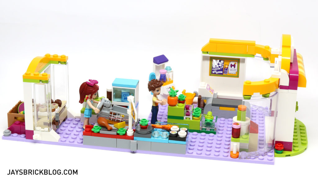 LEGO 41118 Heartlake Supermarket - Alternate Layout