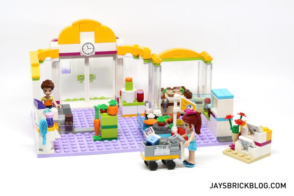 LEGO 41118 Heartlake Supermarket - Back View