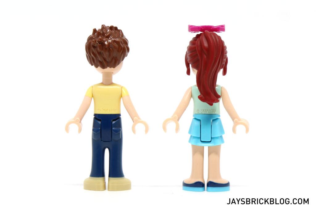 LEGO 41118 Heartlake Supermarket - Daniel and Mia Minidolls Back