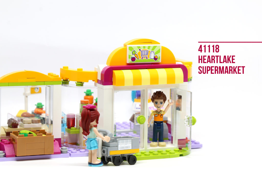 Review: LEGO 41118 Heartlake Supermarket