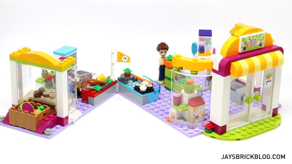 LEGO 41118 Heartlake Supermarket - Folding Sections