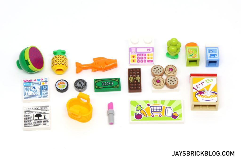 LEGO 41118 Heartlake Supermarket - Interesting Parts