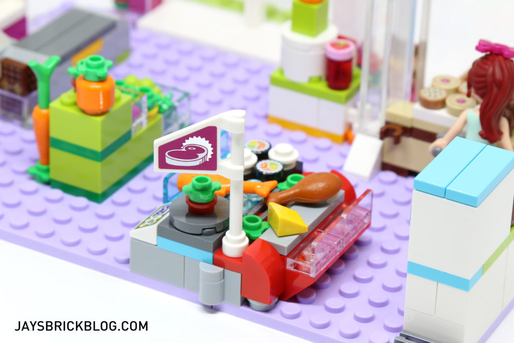 LEGO 41118 Heartlake Supermarket - Meat Section Flag