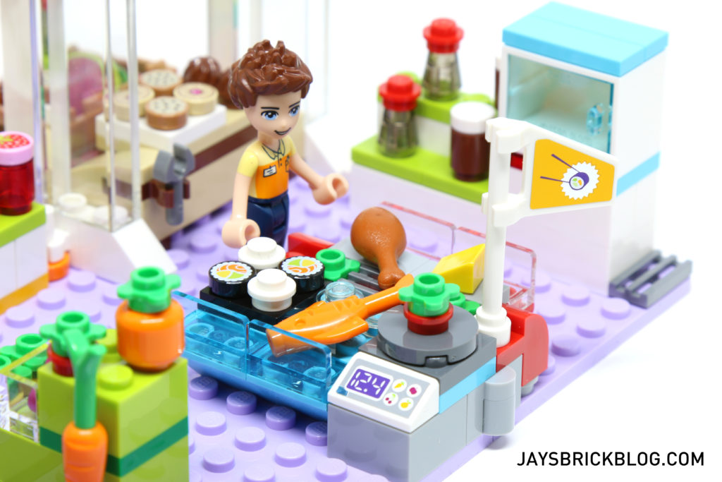 LEGO 41118 Heartlake Supermarket - Seafood and Meat